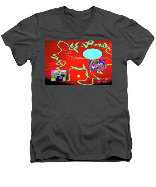 8-18-2057g Men's V-Neck T-Shirt
