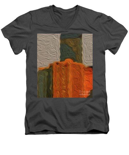 8-2-2057c Men's V-Neck T-Shirt
