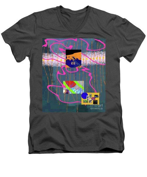 8-2-3057b Men's V-Neck T-Shirt