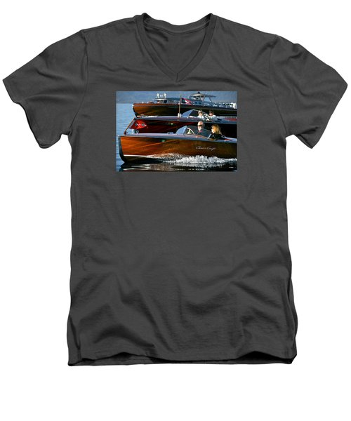 Classic Wooden Runabouts Men's V-Neck T-Shirt