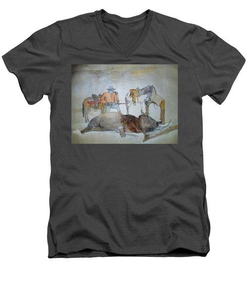 ole West my way album  Men's V-Neck T-Shirt