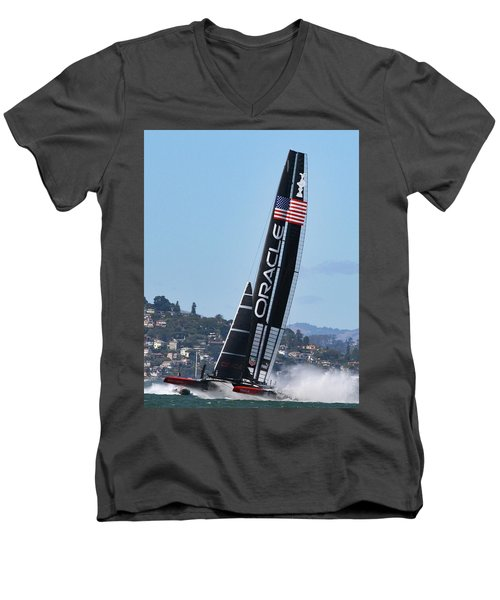 Once In San Francisco Men's V-Neck T-Shirt