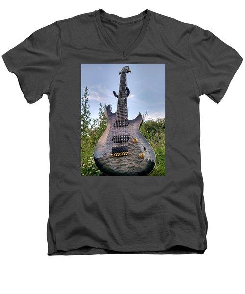 8 String Esp Ltd Jr608 Men's V-Neck T-Shirt