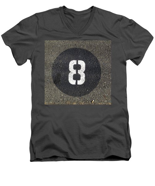 8 Men's V-Neck T-Shirt