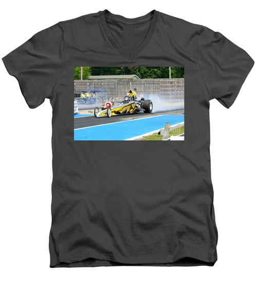 87841 06-15-2015 Esta Safety Park Men's V-Neck T-Shirt