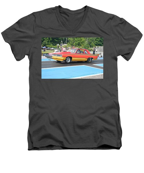 8796 06-15-2015 Esta Safety Park Men's V-Neck T-Shirt