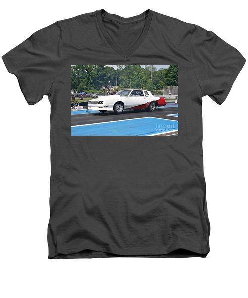 8802 06-15-2015 Esta Safety Park Men's V-Neck T-Shirt