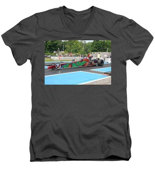 8823 06-15-2015 Esta Safety Park Men's V-Neck T-Shirt