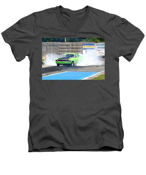 8833 06-15-2015 Esta Safety Park Men's V-Neck T-Shirt