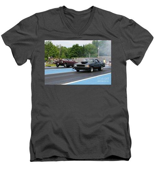 8849 06-15-2015 Esta Safety Park Men's V-Neck T-Shirt