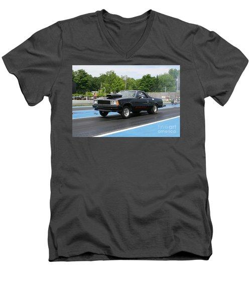8850 06-15-2015 Esta Safety Park Men's V-Neck T-Shirt