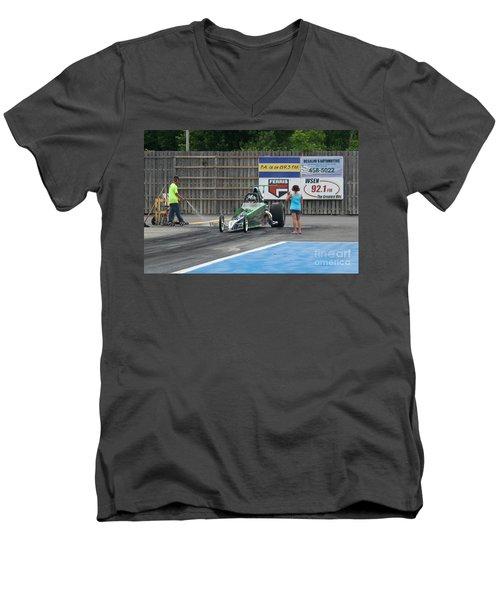 9062 06-15-2015 Esta Safety Park Men's V-Neck T-Shirt