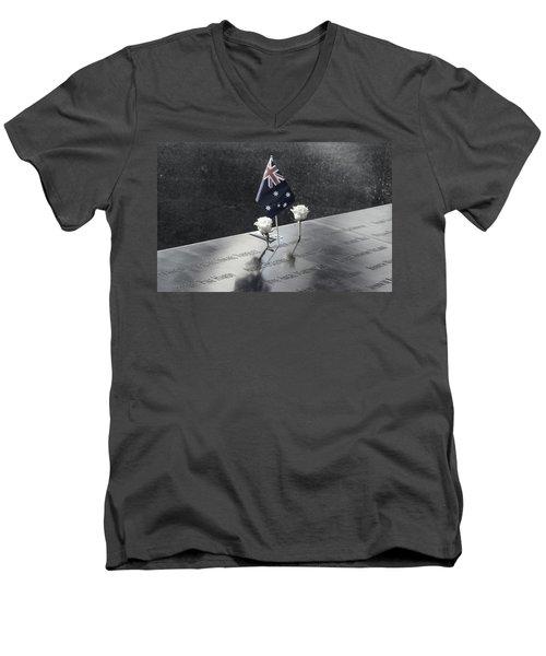 911 Memorial Pool-5 Men's V-Neck T-Shirt