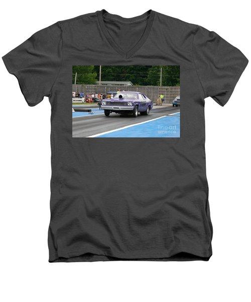 9133 06-15-2015 Esta Safety Park Men's V-Neck T-Shirt