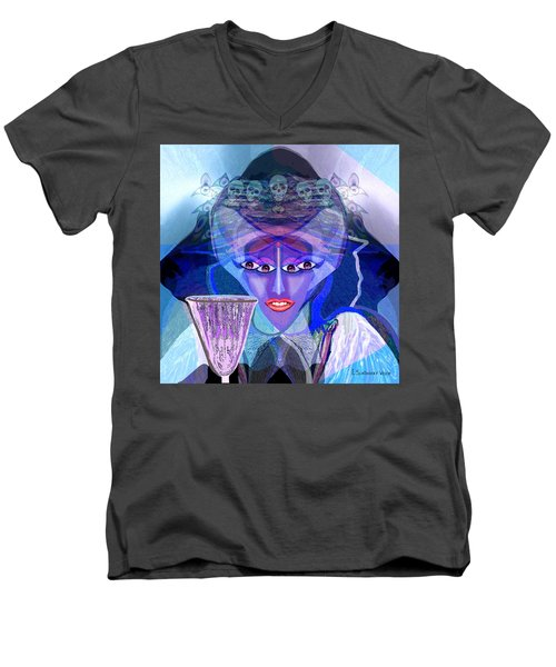 943 - Witchcraft A Men's V-Neck T-Shirt
