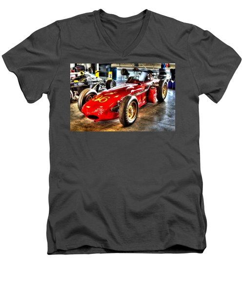 1961 Elder Indy Racing Special Men's V-Neck T-Shirt by Josh Williams