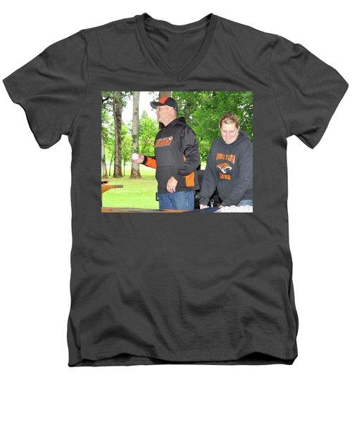 9767 Men's V-Neck T-Shirt