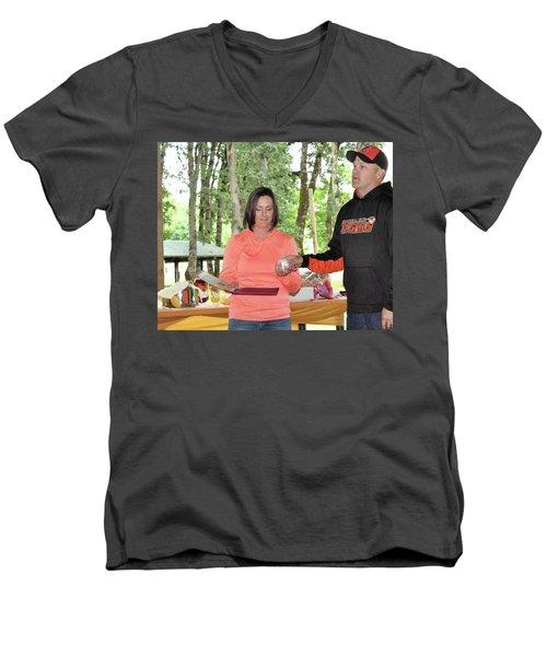 9771 Men's V-Neck T-Shirt