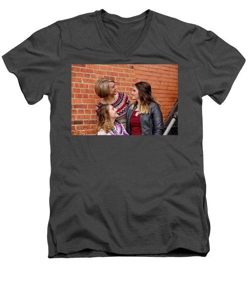 9g5a9412_e Men's V-Neck T-Shirt by Sylvia Thornton
