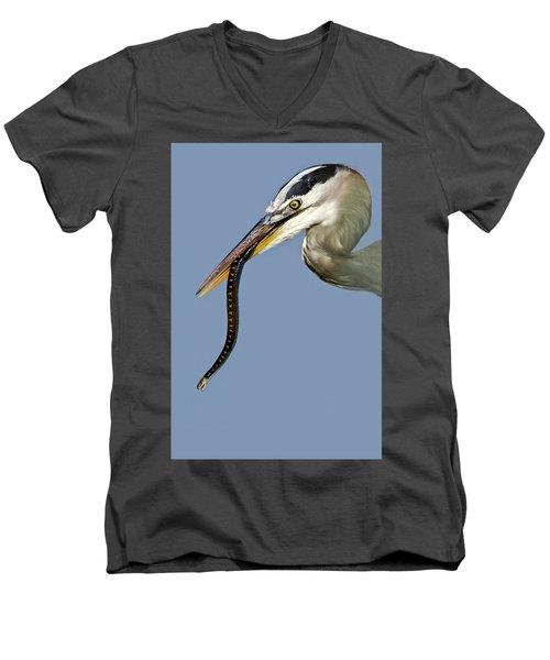 A Bad Snake Day Men's V-Neck T-Shirt