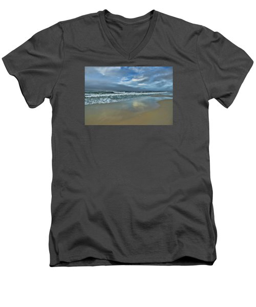 Men's V-Neck T-Shirt featuring the photograph A Beautiful Day by Renee Hardison