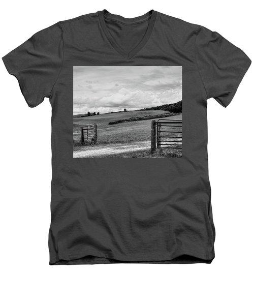 A Berkshire Brae No. 1 Men's V-Neck T-Shirt