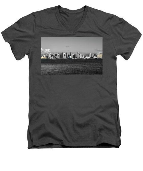 A Bit Of Color Men's V-Neck T-Shirt