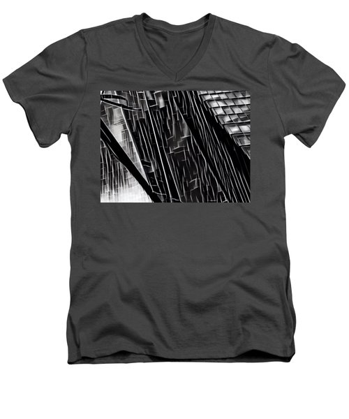 A Black-and-white Cookie Men's V-Neck T-Shirt