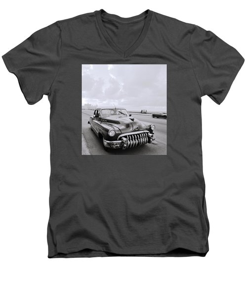 A Buick Car Men's V-Neck T-Shirt