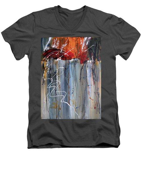 A Burning Issue Men's V-Neck T-Shirt