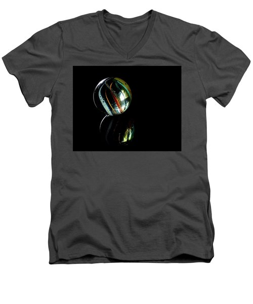 A Child's Universe 3 Men's V-Neck T-Shirt