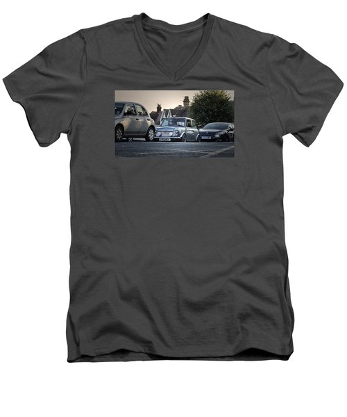 A Classic Men's V-Neck T-Shirt