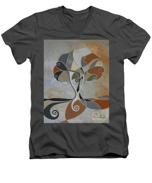 A Cold Winter's Day Men's V-Neck T-Shirt