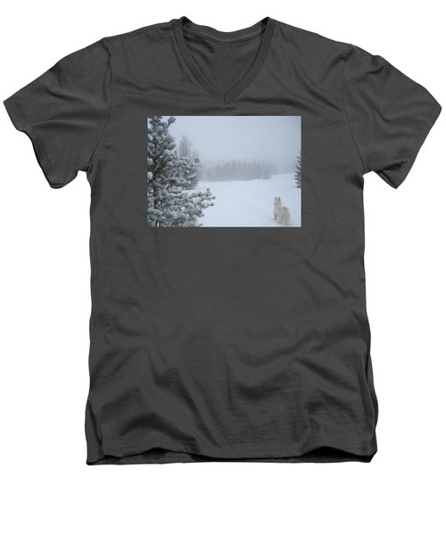 Love The Small Things In Life Men's V-Neck T-Shirt by Fiona Kennard