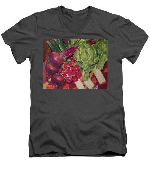 A Day In My Kitchen Men's V-Neck T-Shirt