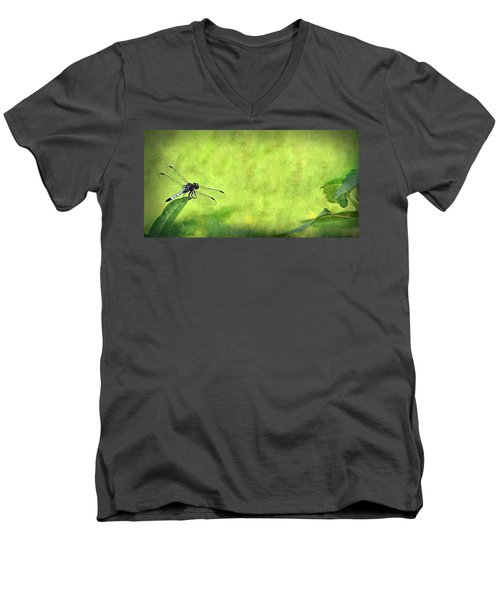 Men's V-Neck T-Shirt featuring the photograph A Day In The Swamp by Mark Fuller