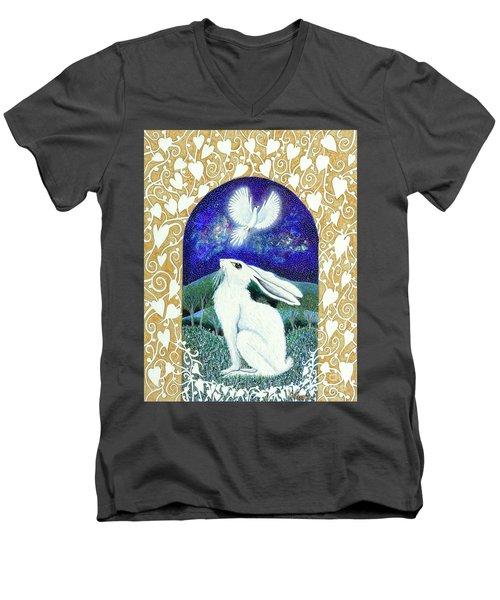 A Deep Thought Men's V-Neck T-Shirt