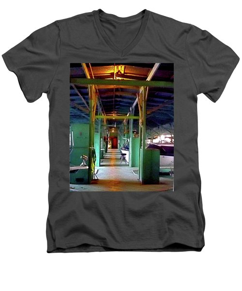 A Delta Boat Shed Men's V-Neck T-Shirt