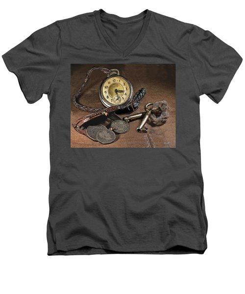 A Different Time Men's V-Neck T-Shirt