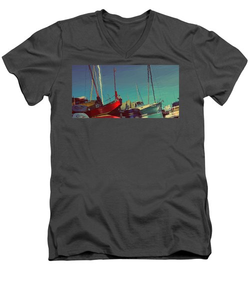 A Different View Men's V-Neck T-Shirt