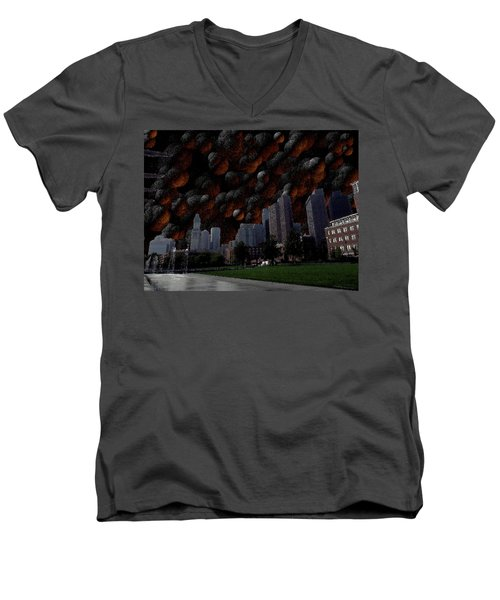 A Dimension Of Boston Rarely Seen Men's V-Neck T-Shirt