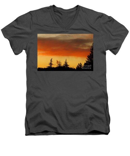 A Distant Rain Men's V-Neck T-Shirt