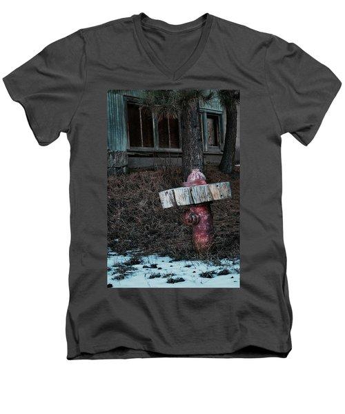 A Dog's Dream Men's V-Neck T-Shirt