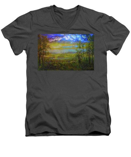 A Far Place  Men's V-Neck T-Shirt