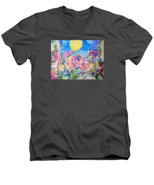 A Fine Summers Morning  Men's V-Neck T-Shirt