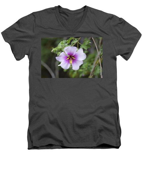 A Flower Men's V-Neck T-Shirt