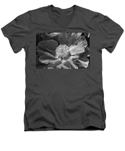 A Flower Of The Heart Men's V-Neck T-Shirt