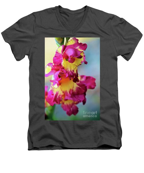 A Gladiolus 3 Men's V-Neck T-Shirt