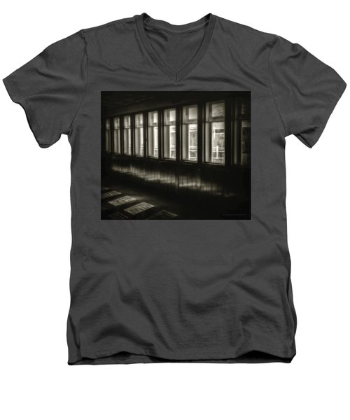 A Glimps From The Dark Men's V-Neck T-Shirt