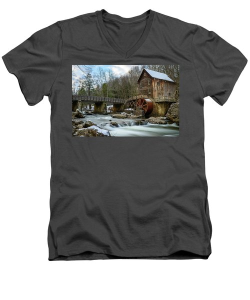 A Glimpse Of Antiquity Men's V-Neck T-Shirt